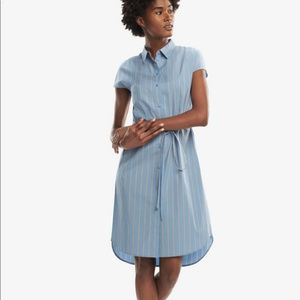 MM.LaFleur Nikita Dress in Poplin Stripe